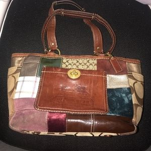 Coach Limited Edition Patchwork Tote